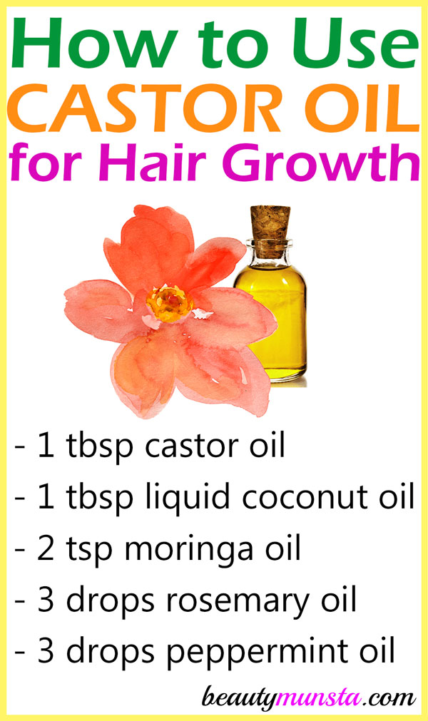 Learn how to use castor oil for hair growth using this powerful serum that I use every week!