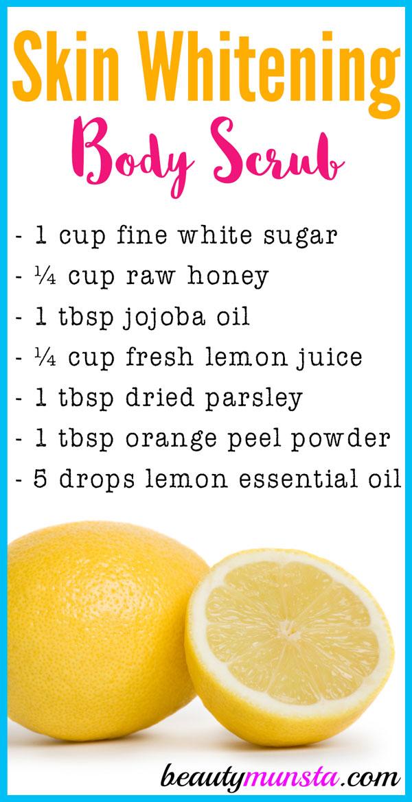 Natural Sugar Body Scrub Recipe