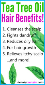 9 Amazing Tea Tree Oil Benefits for Hair