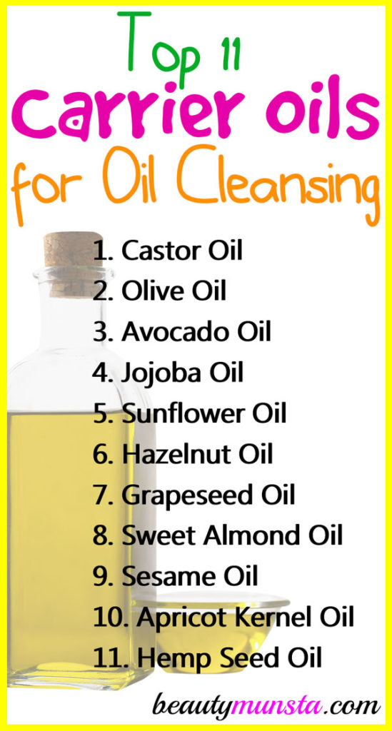 If you're looking for the top carrier oils for oil cleansing, you're on the right page! Here are the most popular oils and how they help!