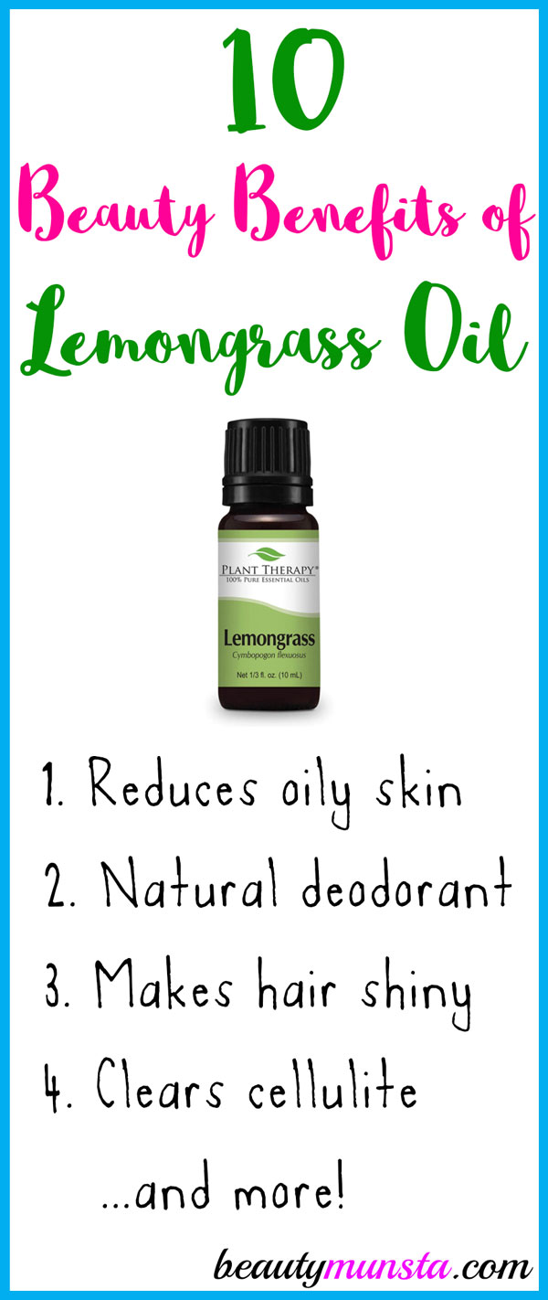 10 Beauty Benefits Of Lemongrass Essential Oil For Skin Hair More Beautymunsta Free Natural Beauty Hacks And More