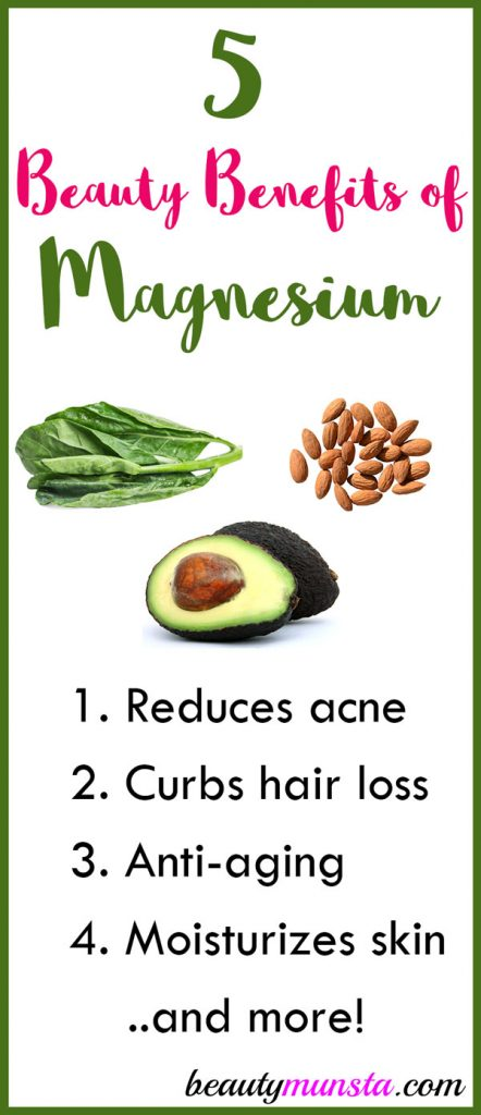 What are the beauty benefits of magnesium in the body? Find out here!