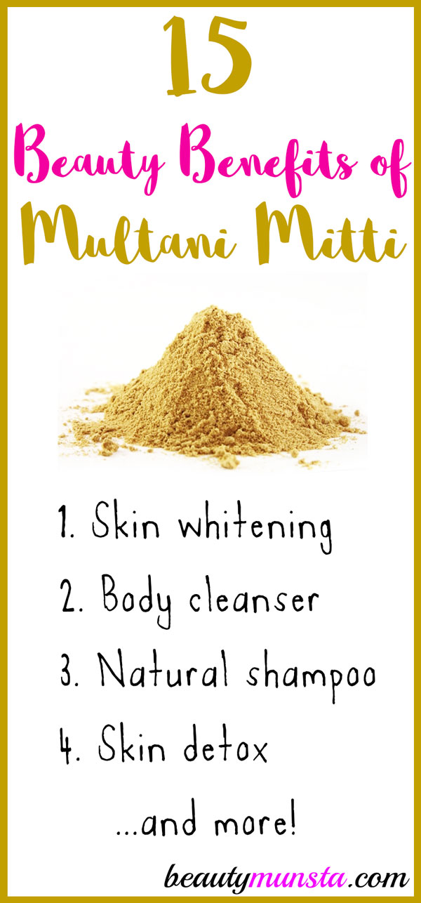 Top 15 Beauty Benefits Of Multani Mitti For Skin Hair