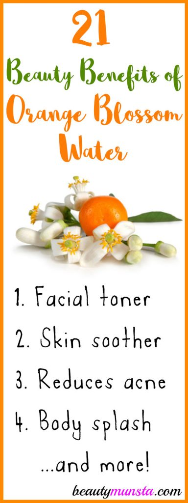 Are you aware of the beauty benefits of orange blossom water? If you haven't then prepare to be amazed!