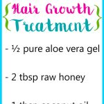 Aloe Vera and Honey for Hair Growth