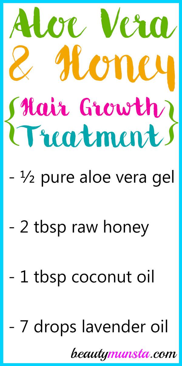 Aloe Vera And Honey For Hair Growth Beautymunsta