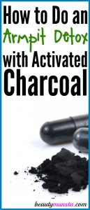 How to Do an Armpit Detox with Activated Charcoal