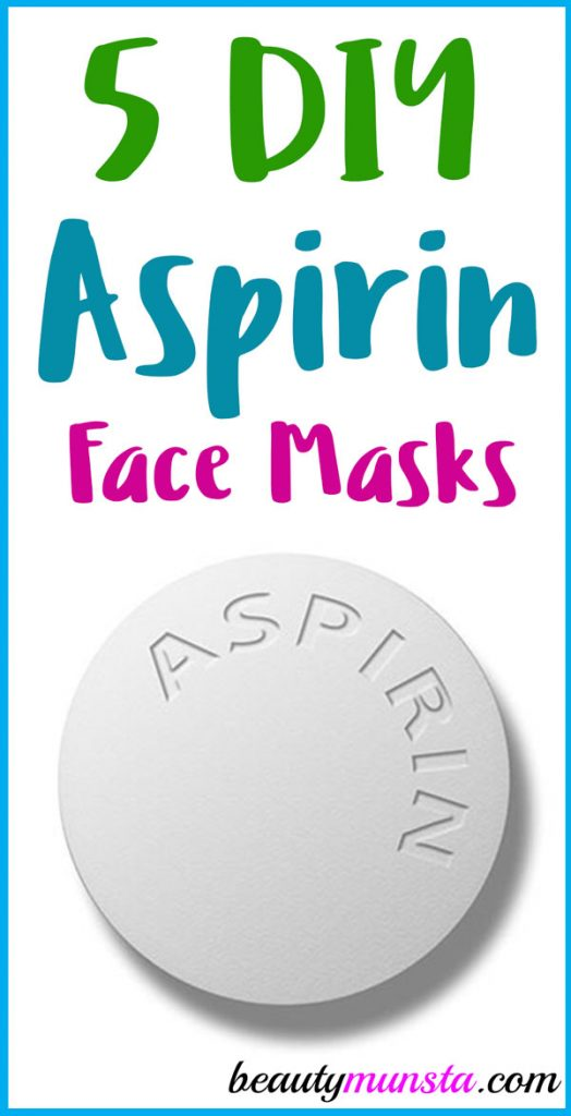 Did you know that you can make a face mask out of aspirin? Check out 5 aspirin face mask recipes below!