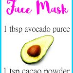 Avocado Cacao Face Mask