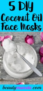 5 Coconut Oil Face Mask Recipes