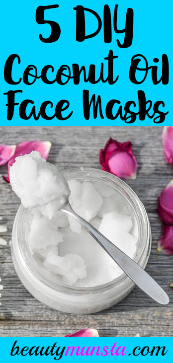 Hello beauties! Check out 5 coconut oil face mask recipes you can make for radiant skin!