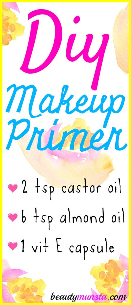 How To Make Your Own Face Makeup Primer