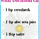 DIY Makeup Setting Spray with Cornstarch