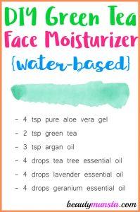 Green Tea Face Moisturizer
