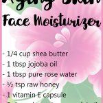 Homemade Face Moisturizer for Aging Skin