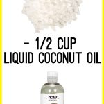 Homemade Salt Scrub with Coconut Oil