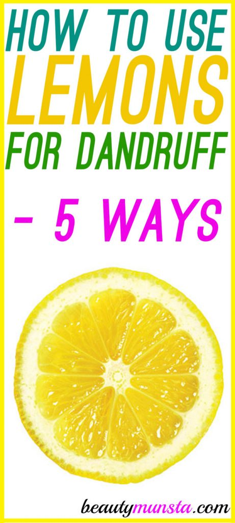Find out how to apply lemon on hair for dandruff as a natural treatment for quick relief!