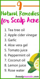 How to Treat Scalp Acne Naturally