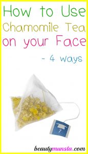 How to Use Chamomile Tea on your Face