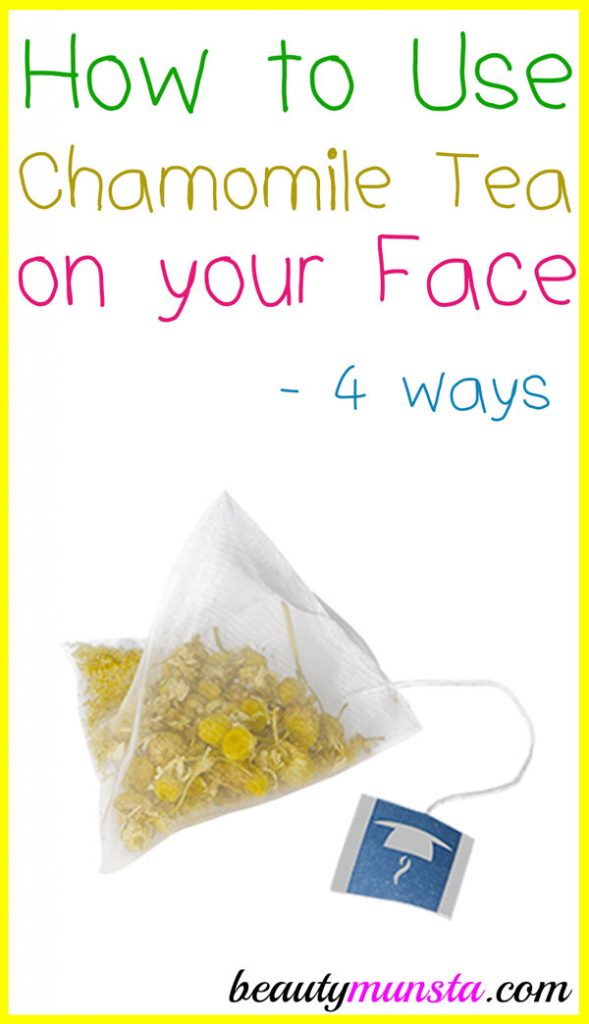 Check out how to use chamomile tea on your face for healthy skin!