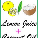 Lemon Juice and Coconut Oil for Hair Growth, Dandruff Control & More!