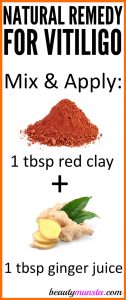 How to Use Red Clay for Vitiligo
