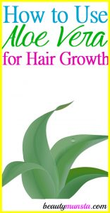 Regrow your Hair Naturally with Aloe Vera