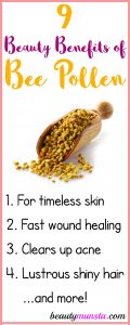 9 Magical Beauty Benefits of Bee Pollen for Skin, Hair & More