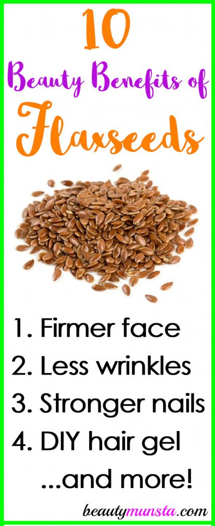 10 Fantastic Beauty Benefits of Flax Seeds for Skin, Hair ...