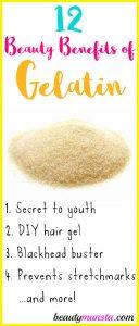 12 Astonishing Beauty Benefits of Gelatin for Skin, Hair & More