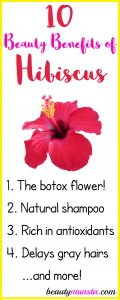 10 Stunning Beauty Benefits of Hibiscus