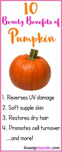 10 Beauty Benefits of Pumpkin for Skin, Hair & More