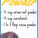 DIY Translucent Face Powder Recipe