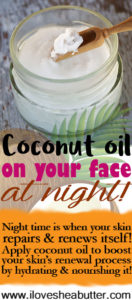 Can you Apply Coconut Oil on your Face at Night?