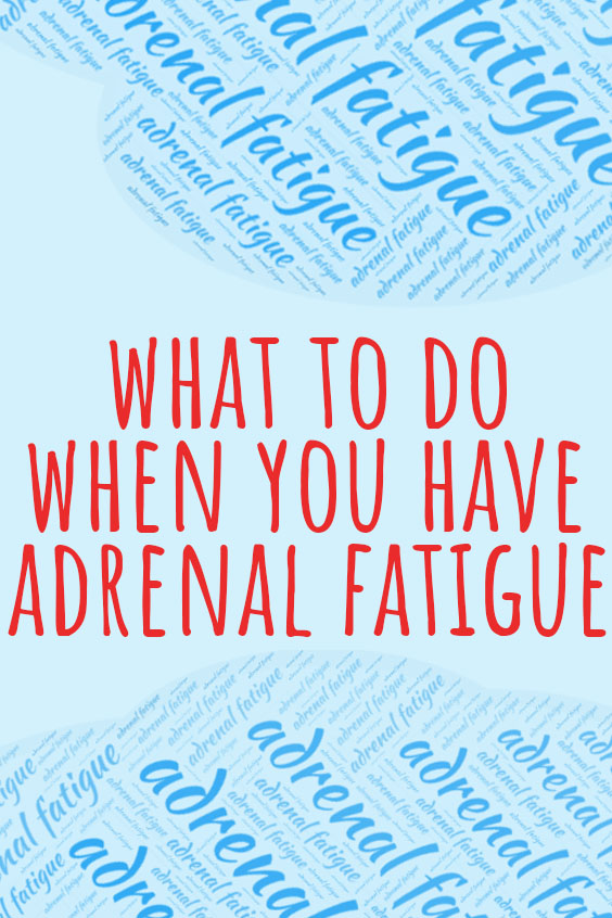 adrenal fatigue relief