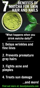 7 Magical Beauty Benefits of Matcha Green Tea