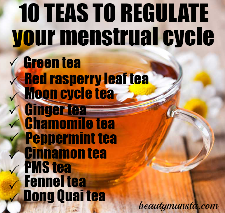 teas to regulate the mentrual cycle