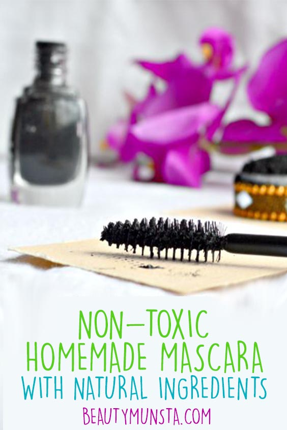 diy mascara with activated charcoal