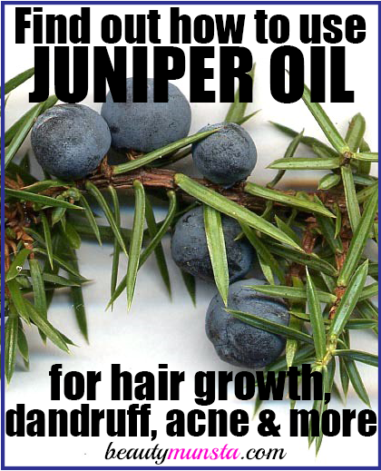 beauty benefits of juniper berry