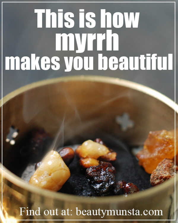 beauty benefits of myrrh essential oil