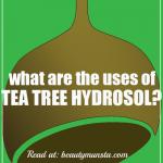 Top 6 Beauty Benefits of Tea Tree Hydrosol