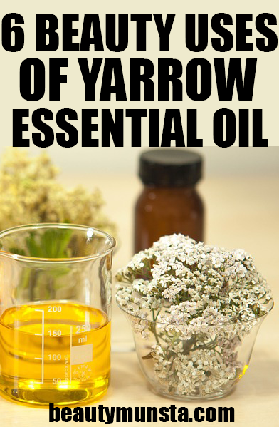 beauty benefits of yarrow essential oil