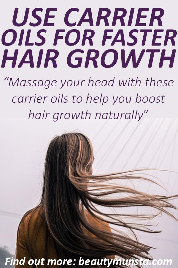 carrier oils for hair growth
