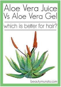 What's Better – Aloe Vera Juice Vs Gel for Hair