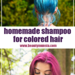 Gentle Homemade Shampoo for Color Treated Hair