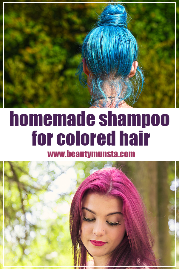 homemade shampoo for color treated hair