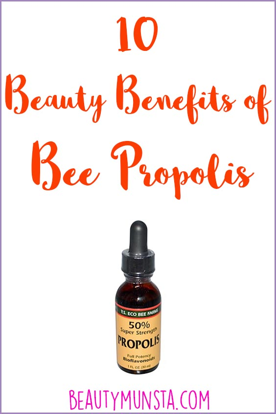 beauty benefits of bee propolis
