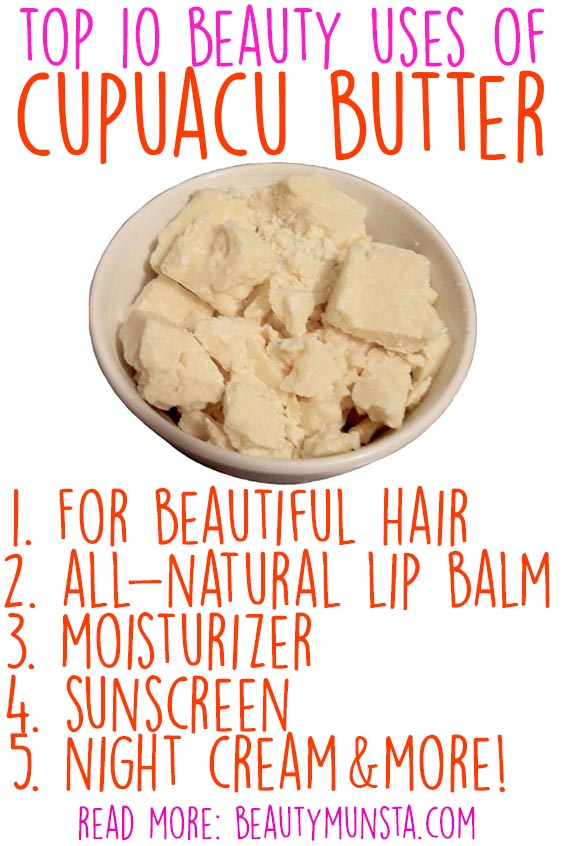 beauty benefits of cupuacu butter