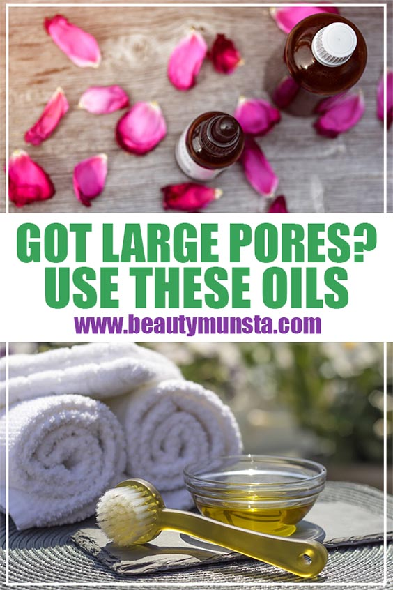 carrier oils for large pores