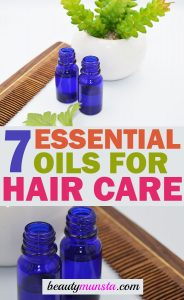 7 Best Essential Oils for Hair Care With Recipes